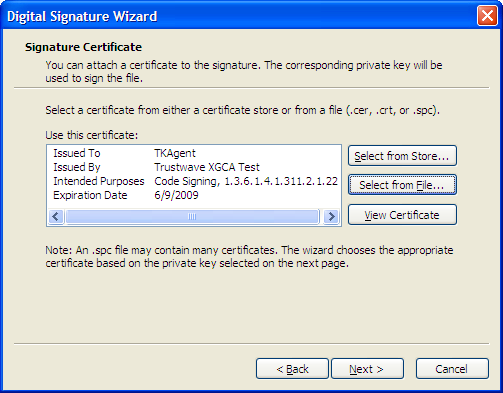 Code Signing for Mac OS X and Windows